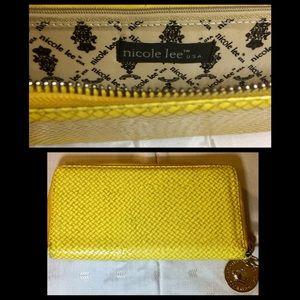 Handbags - Nicole Lee Bright Yellow Wallet